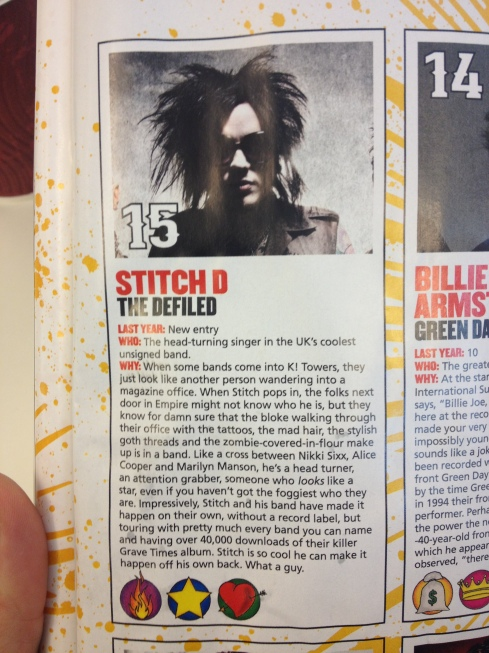 Stitch D Top Rockstar